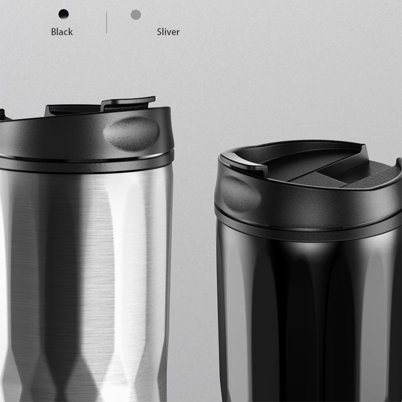 2018 Thermos Travel Coffee Mugs Insulated Thermocup 400ml Stainess Steel Vacuum Flask With Lid For Car Thermo Cup Coffee Cups