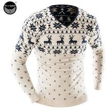 Мужской пуловер 2016 Slim Homme o/xxl