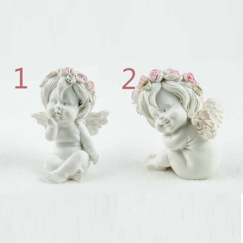 Cute Angel Flower Angels 3d Baby Molds Two Shape Silicone Mould Fondant Forms Soap Candle Molds Clay Mould For Cake Decoration