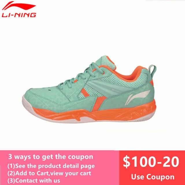 Li-Ning Men's Badminton Shoes 2017 Newest Breathable Lining Athletic Sneaker Anti-Slippery Sports Shoe Li Ning AYTM079 L716OLC