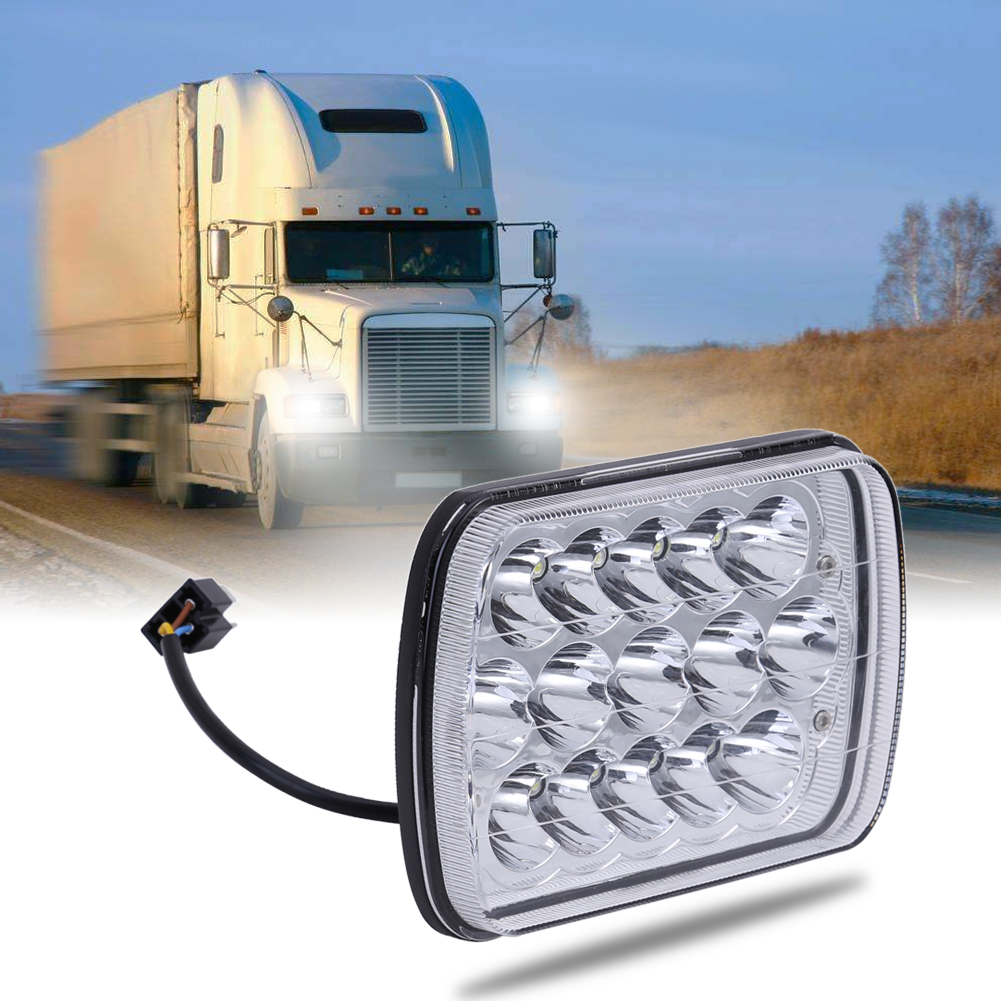 7 inch 45W Car LED Work Light 12V High-Power for Offroad Truck Tractor Driving Fog Lamp Headlight High Quality 19inch 40w 6500k ip67 4000lm car led high power working light headlights for truck outdoor work lamp
