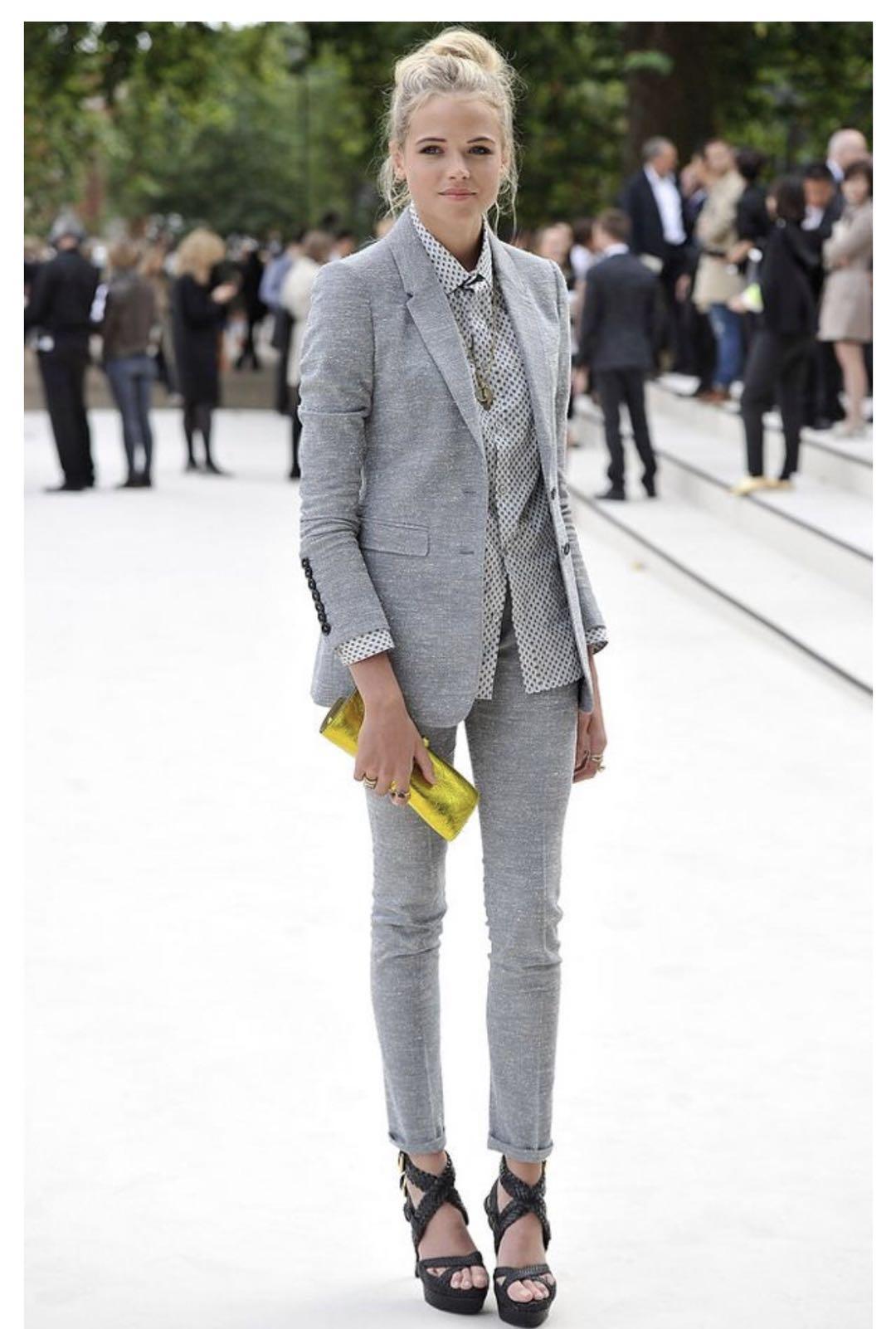 Spring Autumn Fashion Women's Business Pants Suits Suits For Women 2 Pieces Set