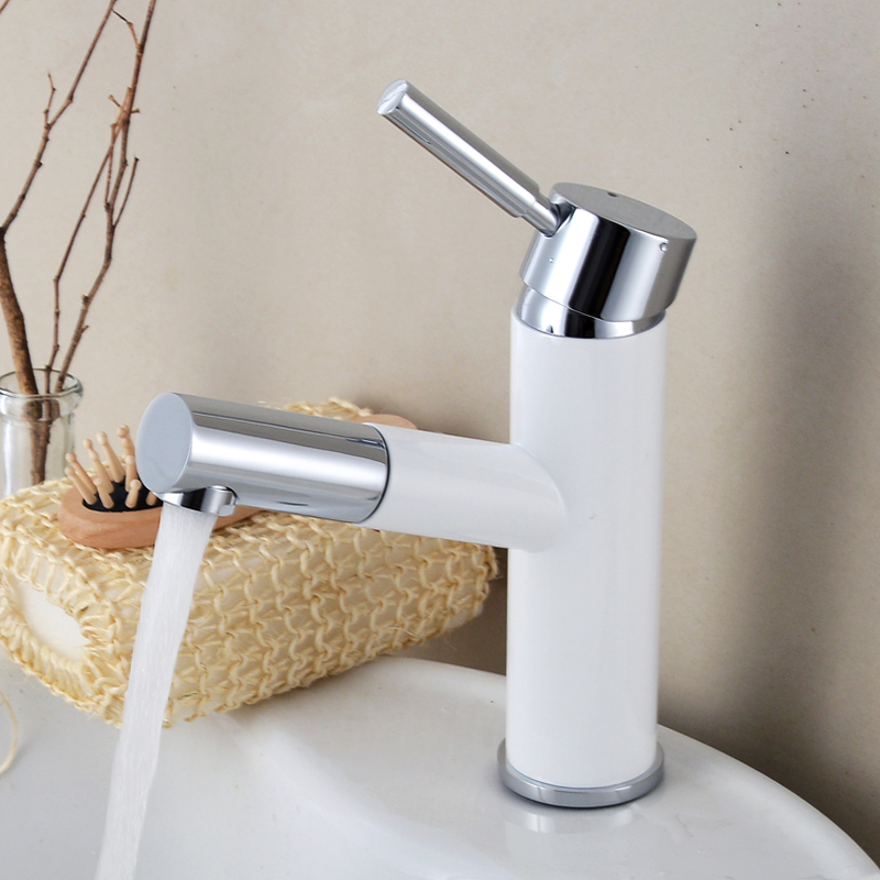 7 Faucet Finishes For Fabulous Bathrooms: Bathroom Faucet Mixers Chrome Finish Brass Basin Sink