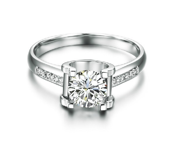 bague diamant lumineuse