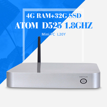 Mini PC ,Tablet Case ,D525 4G RAM,32G SSD,WIFI,VGA,Fan Motherboard ,Keyboard And Mouse ,Laptop Thin Client