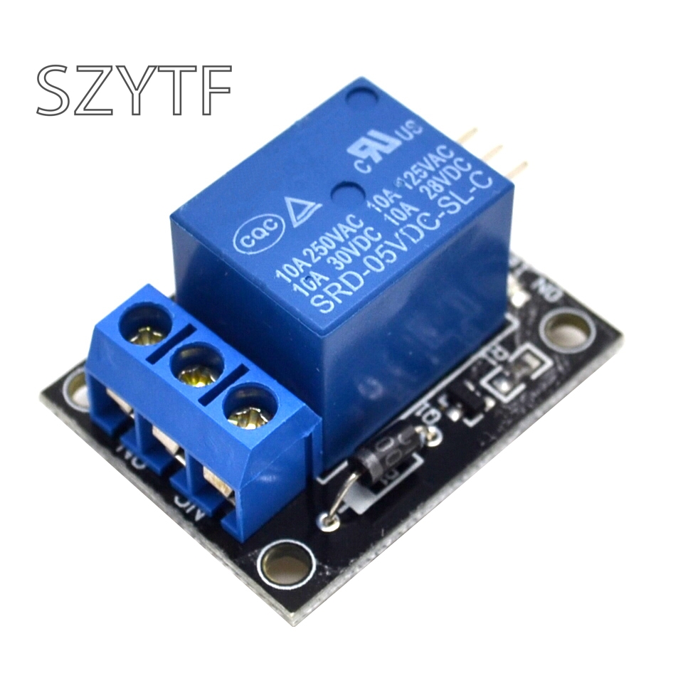 KY-019 <font><b>5V</b></font> One 1 Channel Relay Module <font><b>Board</b></font> Shield For PIC AVR DSP ARM for arduino MCU DIY Kit image