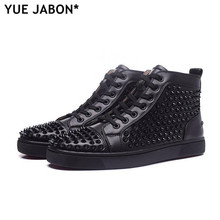 Luxury Unisex Designer Fashion Mens Shoes Black Brand Boots