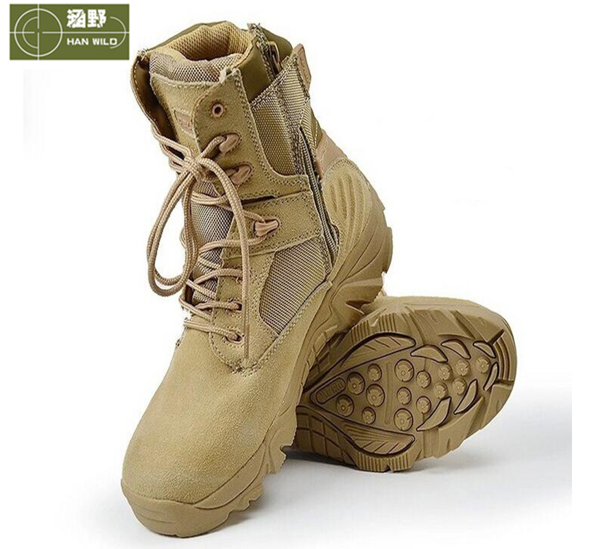 ФОТО New ! Tactical Army Boots War Game Hunting Boots For Men Hiking Shoes Waterproof Breathable Outdoor Sport Camping Shoes