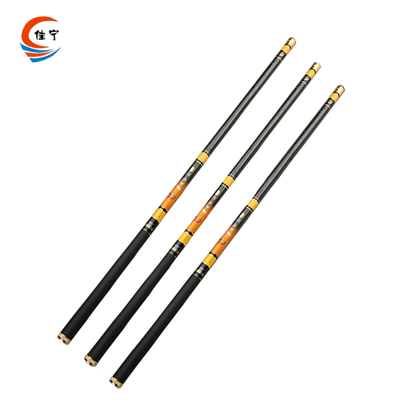 Superhard Stream Rod 3.6M,4.5M,5.4M,6.3M,7.2M Carbon Fiber Fishing Rod Ultra-light Portable Telescopic High Quality Fishing Rod