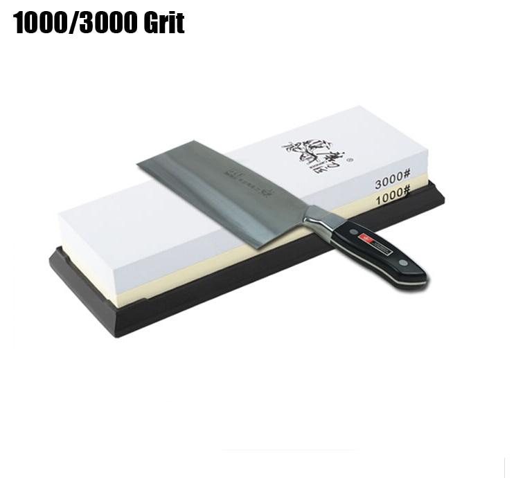 Taidea Sharpening whetStone Double sided corundum Comb Kitchen CHEF knife sharpener 1000/3000 Grit water whetstone T0961W