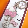 hello kitty keychain key ring high quality cat keychain innovative portachiavi chaveiro llaveros mujer