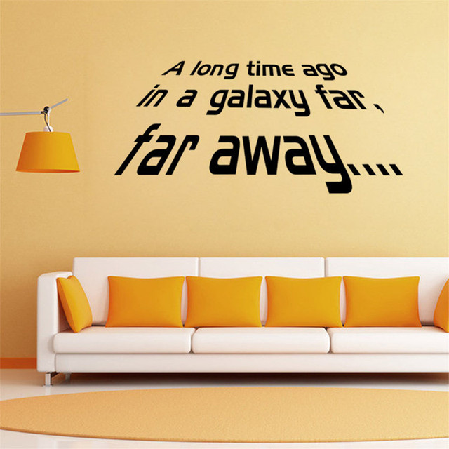 New Style Handmade DIY Graphic vinyl wall sticker quotes from Star ...