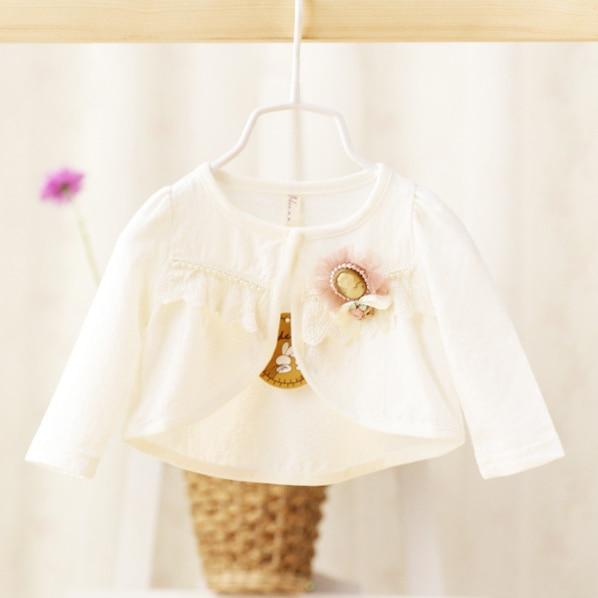 2017 Spring Summer And Autumn Cardigan Baby Girls Baby Infant Children Baby Child Cotton Shawl Short Coats