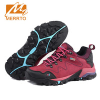 MERRTO Women S Waterproof Walking Shoes Skidproof Design Sneakers Breathable Shoes Woman Trekking Shoes High Quality