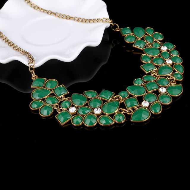 Vintage Necklace Luxury Gold Plated