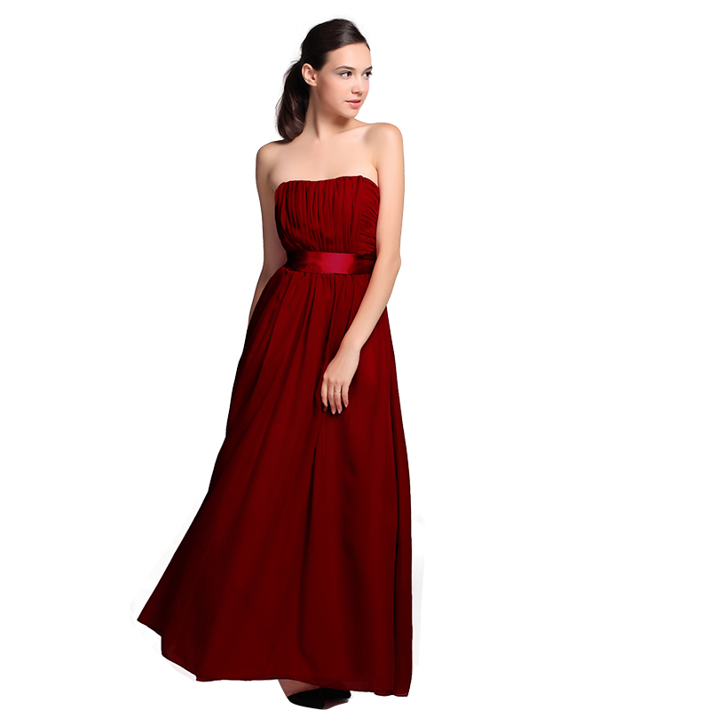 Compare Prices on Dark Red Bridesmaid Dresses- Online Shopping/Buy ...