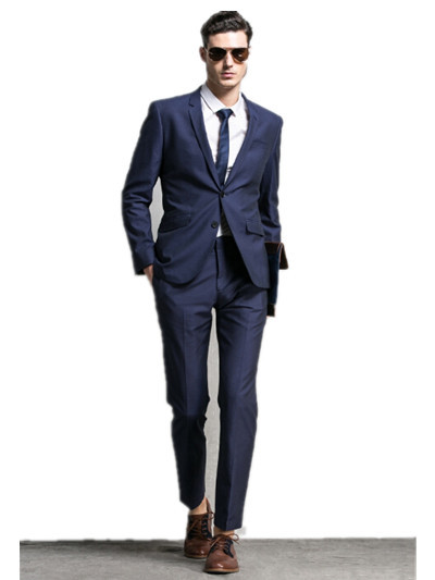 Elegant man suits groom/groomsman suits business wear slim man ...