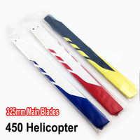 Pour Aglin TREX 450 RC accessoires hélicoptère 325MM lame principale en Fiber de verre (costume pour kds 450)