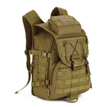 Military Tactical Backpack camouflage bag Outdoor Sports Army Camouflage Nylon Backpack Bag Big mountaineering bag фото