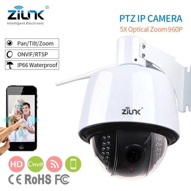 ZILNK vitesse dôme IP caméra extérieure PTZ 2.7-13.5mm Auto-focus IP66 étanche Onvif H.264 HD 960 P Wifi caméra de sécurité sans fil