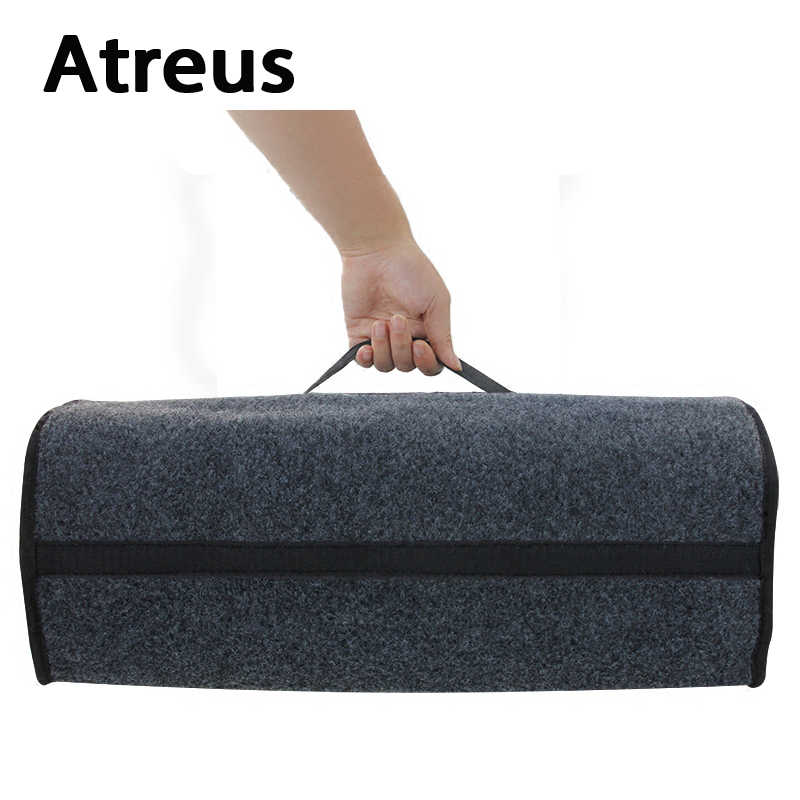 Atreus Car Seat Back Trunk Box Bag Storage Organizer Holder For Volkswagen VW Polo Golf 4 Touran Opel Astra H J G Insignia Cover