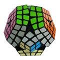 2016 Mais Novo Cubo 4x4 Velocidade Cube Dodecaedro Megaminx Shengshou Enigma Cérebro Teaser Toy Kids Brinquedos Branco E Preto para As Crianças