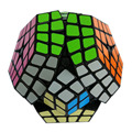 2016 Newest Shengshou Puzzle Cube 4x4 Megaminx Speed Cube Dodecahedron  Brain Teaser Kids Toy White And Black Toys for Children