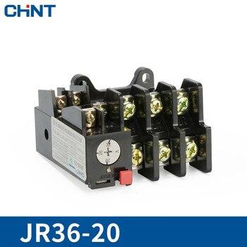 цена на CHINT Heat Relay JR36-20 Overload Protect 220v Heat Protect Relay Heat Overload Relay