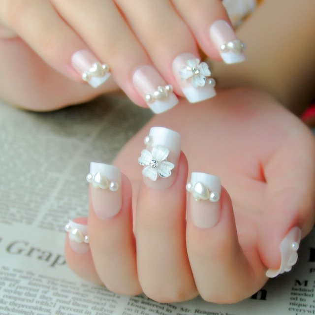Fashion Design False Nails Decoration Full Cover Long Fake Nail