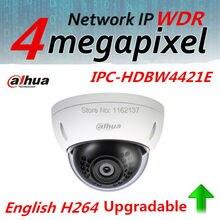 Dahua Английский Versaion IP Камера 4MP HD WDR Сети IPC-HDBW4421E антивандальные ИК Купольная Камера 2.8 мм Объектива