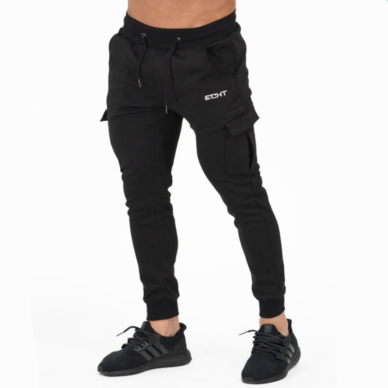 2017 Newest Mens cotton Sweatpants Man Autumn Winter Gyms Fitness trousers Joggers worko ...