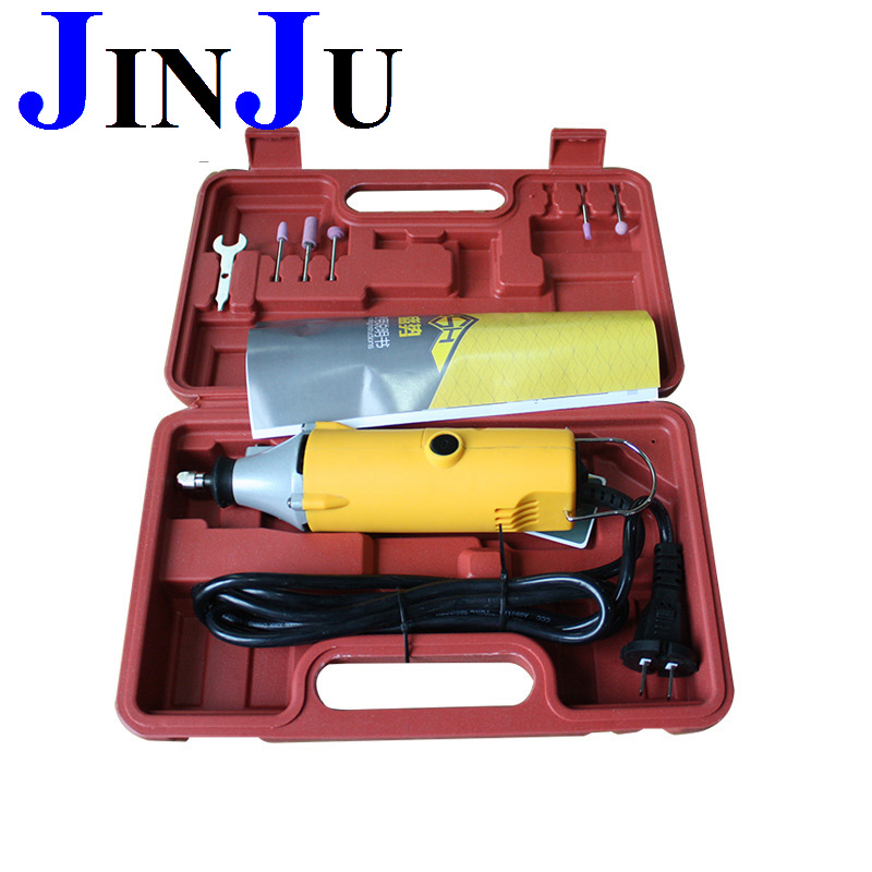 350W  220v Grinder set with 3mm head  electric tool  grinding jade pendant Power Tool kit
