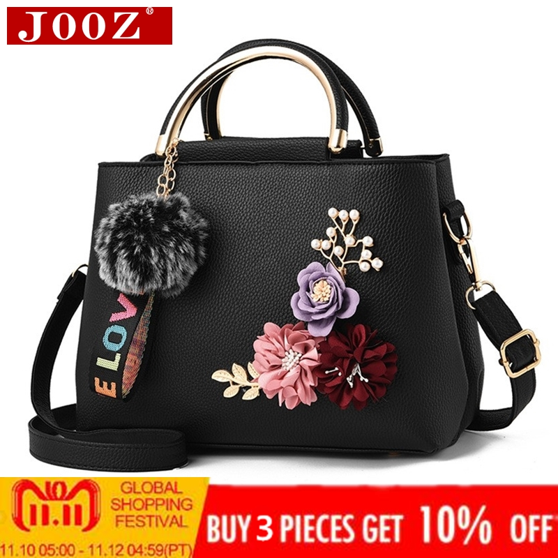 JOOZ 2018 color flowers shell Women's tote Leather Clutch Bag small Ladies Handbags Brand Women Messenger Bags Sac A Main Femme jooz brand women 100
