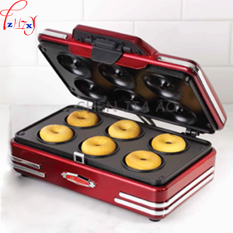 1PC 220V 750W electric home mini donut machine small breakfast machine donuts waffle machine baking tools auto digital clamp meter mastech ms2108a pincers ac dc current voltage capacitor resistance tester aimometer multimeter amper