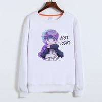 BTS Kpop Hoodie For Women Men Sweatshirts SUGA V JIMIN JUNG KOOK Harajuku Hoodies Album Print