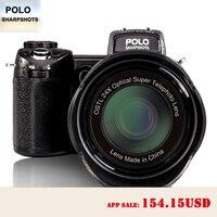 PROTAX D7100 33MP FHD DSLR Halve Professionele Digitale Camera 24x Tele & Groothoeklens sets 8X Digitale zoom camera Focus