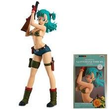 WSTXBD Original Banpresto Dragon ball Z Glitter&Glamours GG Buruma Bulma  PVC Action Figure Brinquedos Toys Figurals Dolls