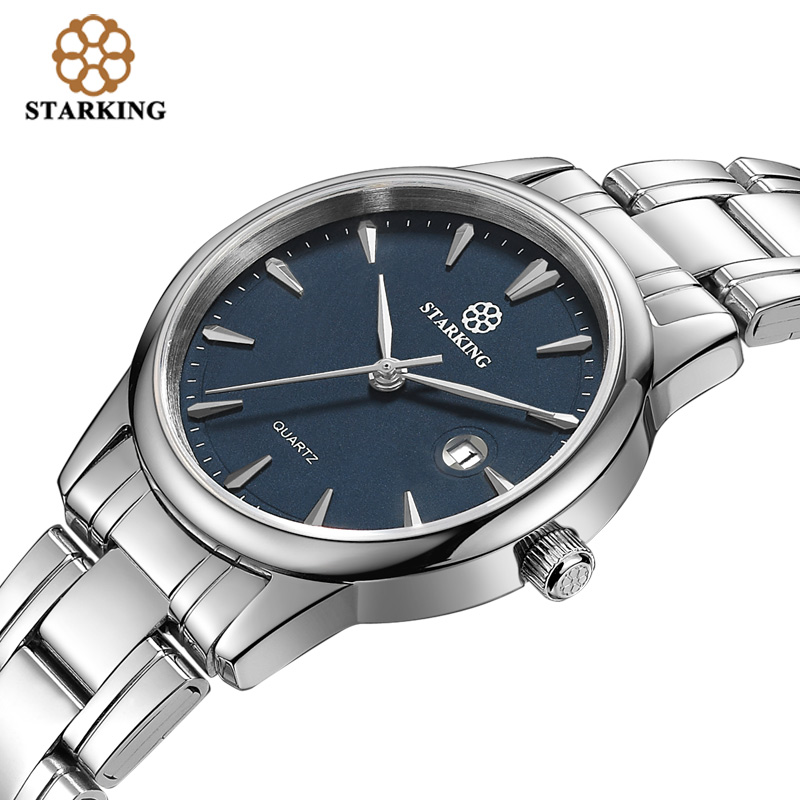 Starking Luxury Brand Women's Quartz Watch Auto Date Stainless Steel Watch Ladies Fashion Casual Women Wristwatches 3atm Klockor onlyou luxury brand fashion watch women men business quartz watch stainless steel lovers wristwatches ladies dress watch 6903