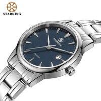 Starking Luxury Brand Women S BL0972 Quartz Watch Date Stainless Steel Watch Ladies Fashion Casual Watch