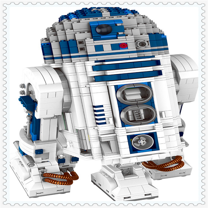 LEPIN 05043 STAR WARS R2-D2 Robot Model Building Block 2127Pcs Educational  Toys For Children Compatible Legoe кеды adidas кеды stan smith w