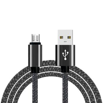Micro USB Cable Nylon Braided Cord High Speed USB to Micro USB Charging Cables for Android