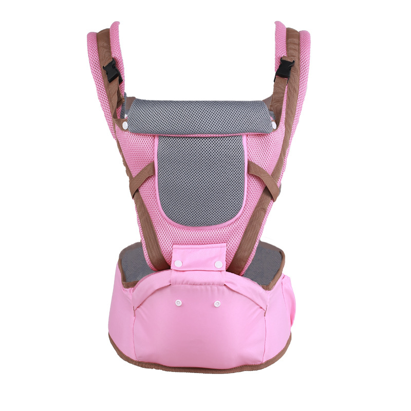 3 In 1 Baby Carrier Front Seat All Seasons Kid Hipseat Belt Sling Breathable Waist Stool Ergonomic Backpack Kids Hip Seat