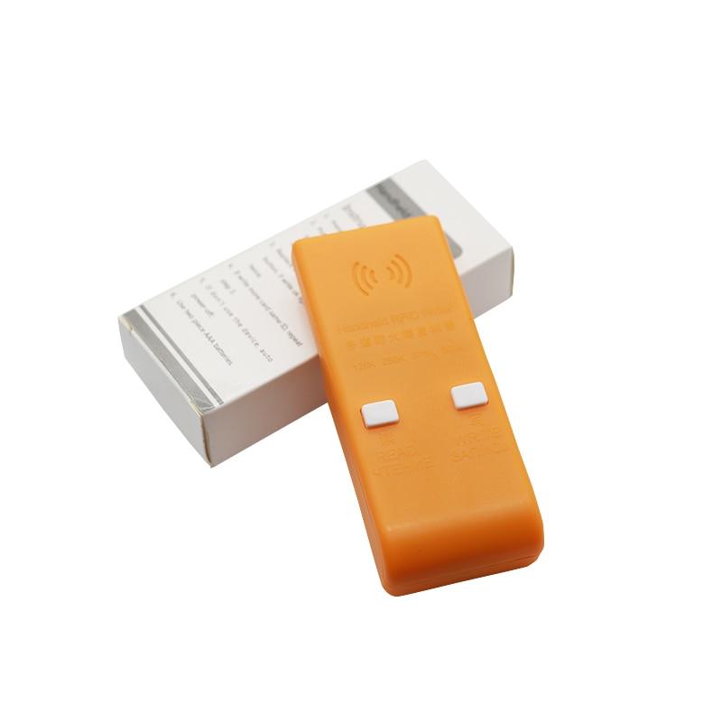 Handheld 125/250/375/500KHz RFID ID  Card Writer/Copier Duplicator Rewritable ID Keyfobs Tags Card Programmer ReaderHandheld 125/250/375/500KHz RFID ID  Card Writer/Copier Duplicator Rewritable ID Keyfobs Tags Card Programmer Reader