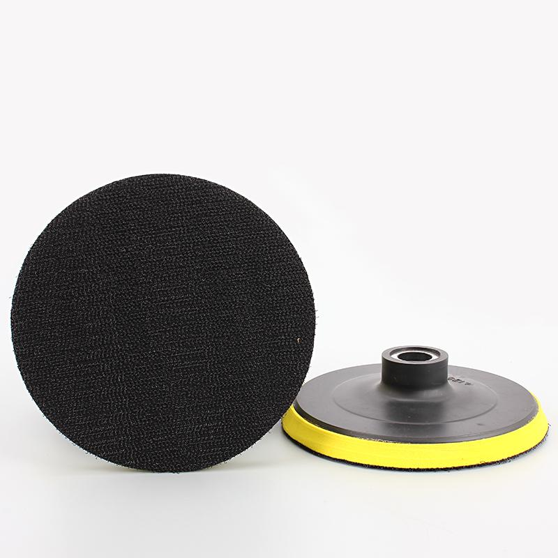 Polishing Disc For Sandpaper Sheet Adhesive Chuck Angle Grinder Sticky Plate Car 80-150mm