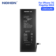 NOHON 3.82V 2265mAh Lithium Li-ion Battery Mobile Phone Replacement For Apple IPhone 7 7G IPhone7 Smart Bateria