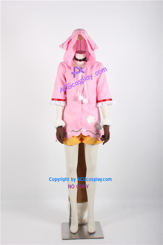 Vocaloid Ooka Miko Cosplay Costume