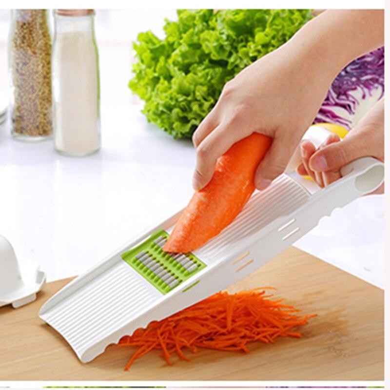 Gemüse Obst Schäler Kohl Reibe Cutter Slicer Edelstahl RBEEJ