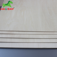HAUBAY Basswood Plywood 915x915x1.5/2/3mm Wide Sheets Crafting Wooden for airplane boat ship house handwork Christmas Deals
