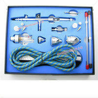 Dual Action Airbrush Air Brush Kit With Airbrush Hose And Spray Gun For Nail Art Tattoos