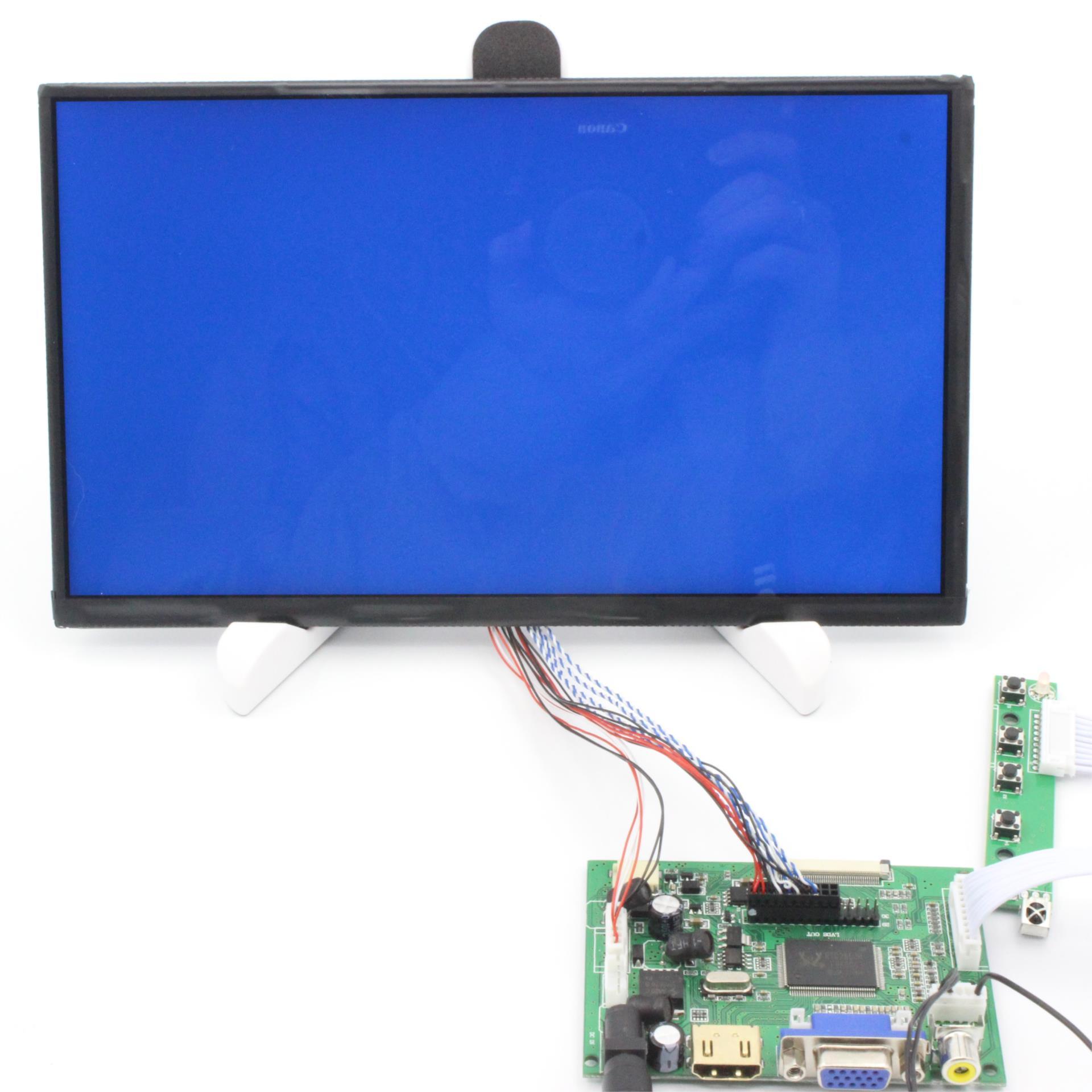 10.1 Inch 1024*600 Screen HD Digital LCD Module Monitor Display Backing Car HDMI VGA AV Raspberry Pi 3 Banana Pi 1024 DIY